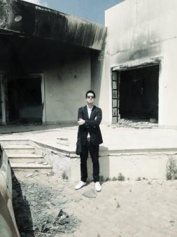 inside compound 3 - benghazi 2013